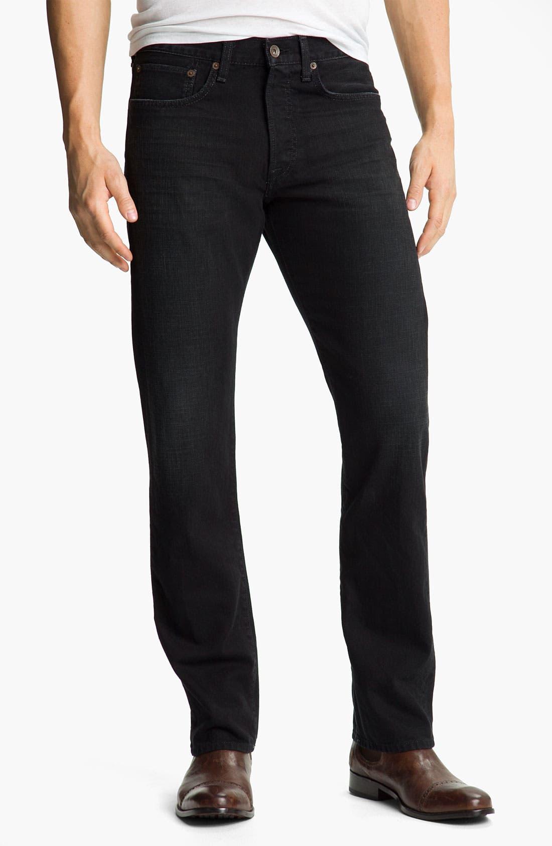 Main Image - Lucky Brand '121 Heritage' Slim Straight Leg Jeans (Ol' Subway)