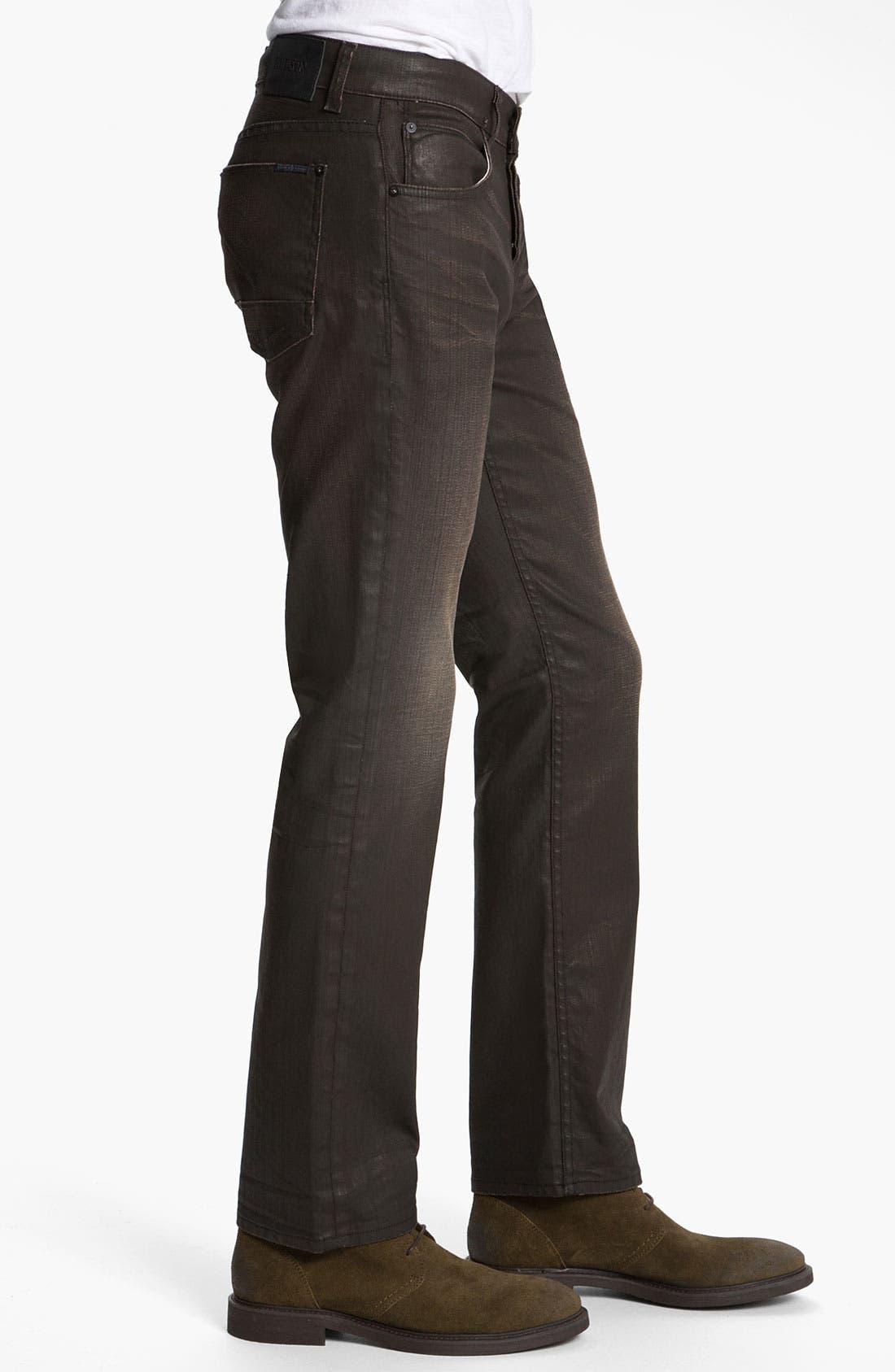 Alternate Image 3  - Hudson Jeans 'Byron' Coated Straight Leg Jeans (Tomahawk)