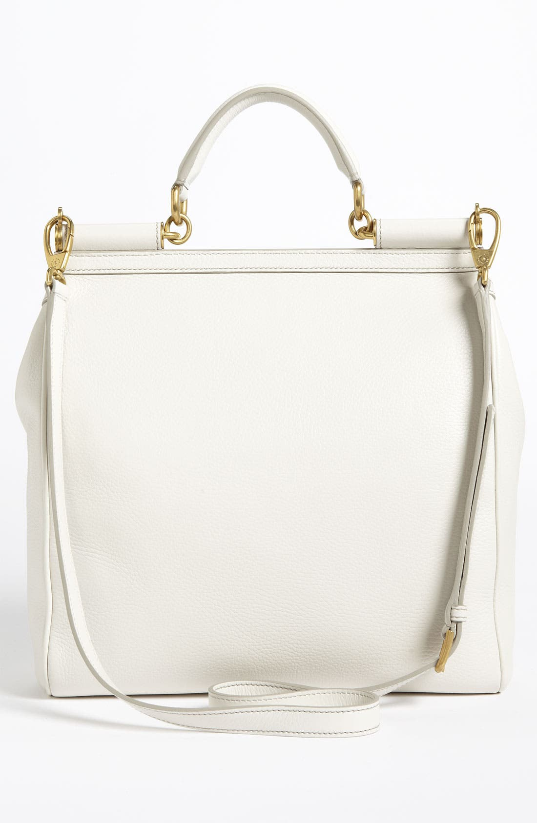 Alternate Image 4  - Dolce&Gabbana 'Flat Miss Sicily - Large' Leather Satchel