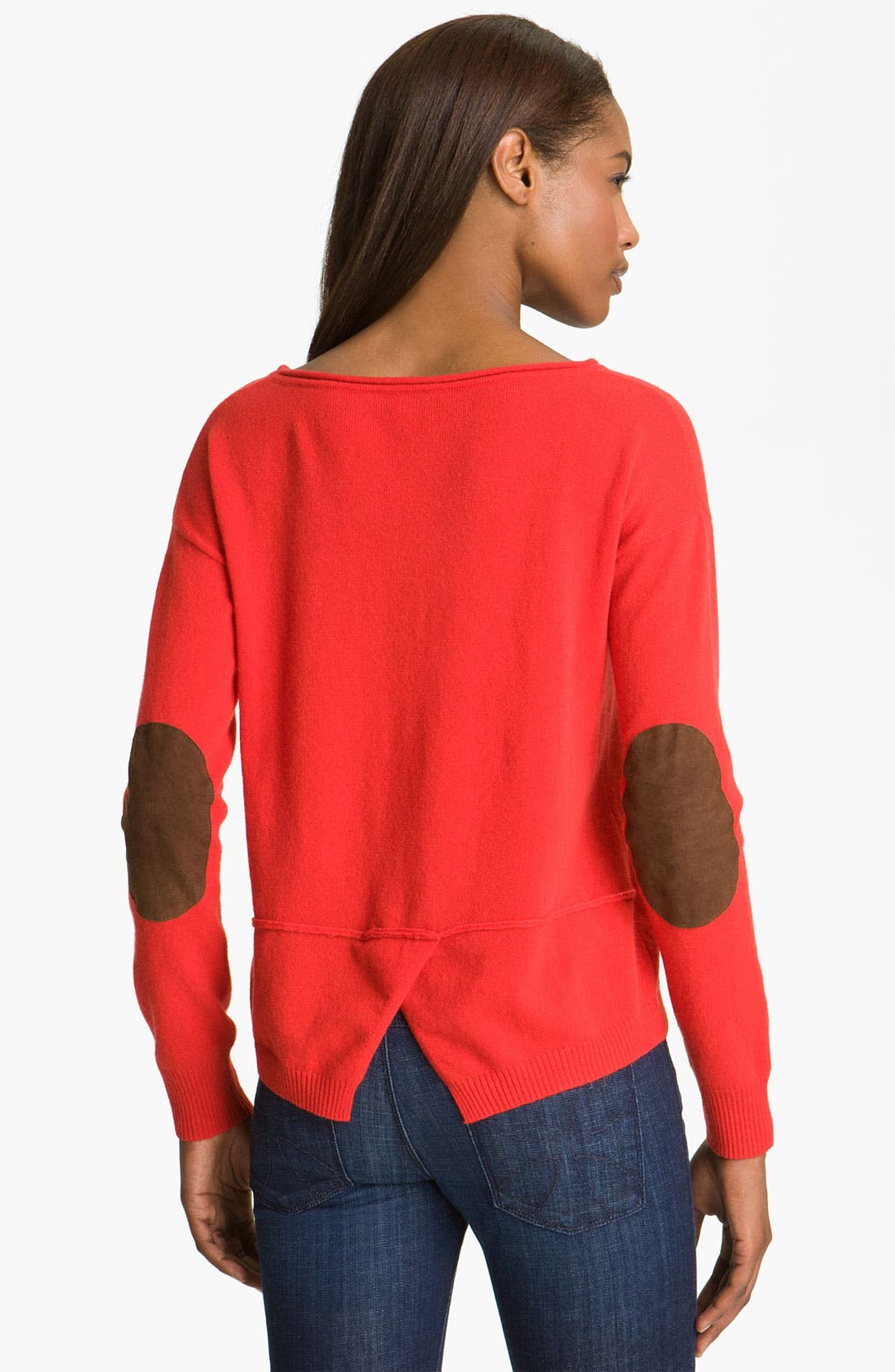 Alternate Image 2  - autumn cashmere Cashmere Crop Sweater