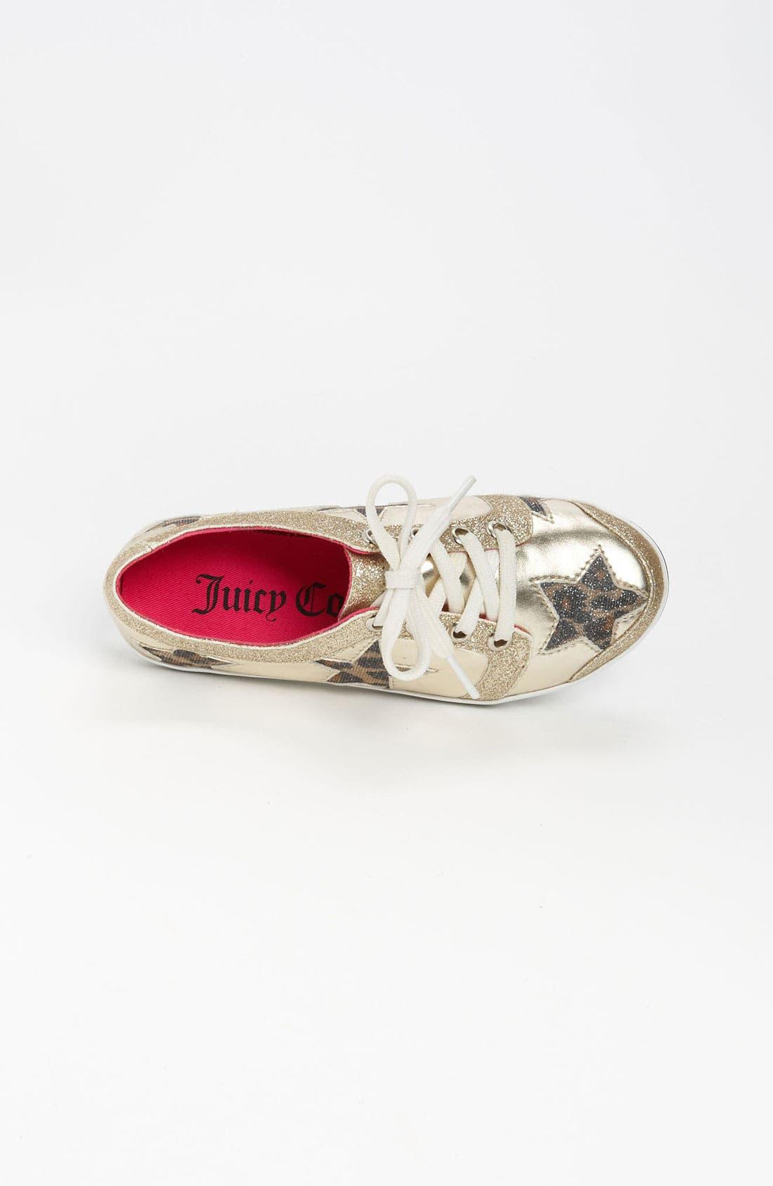Alternate Image 3  - Juicy Couture 'Star' Sneaker (Toddler, Little Kid & Big Kid)
