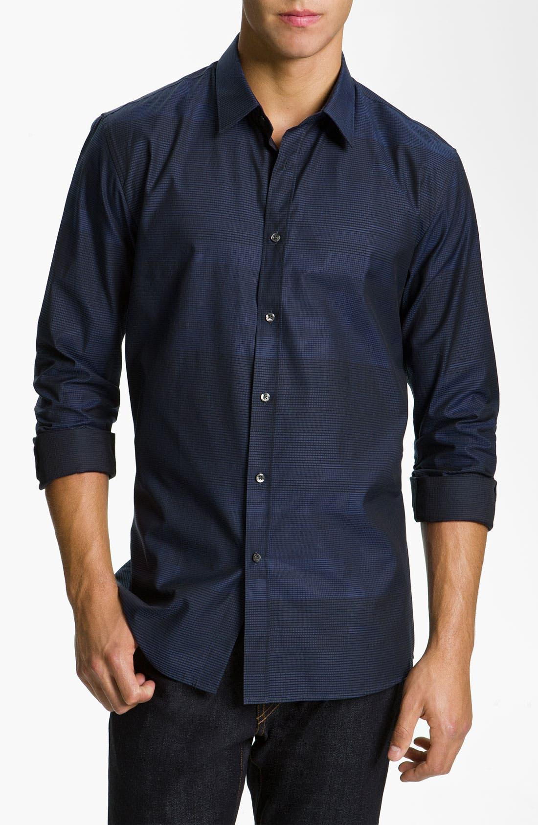 Main Image - HUGO 'Elisha' Slim Fit Sport Shirt