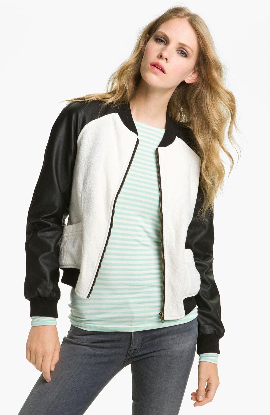 Main Image - Sanctuary Varsity Jacket