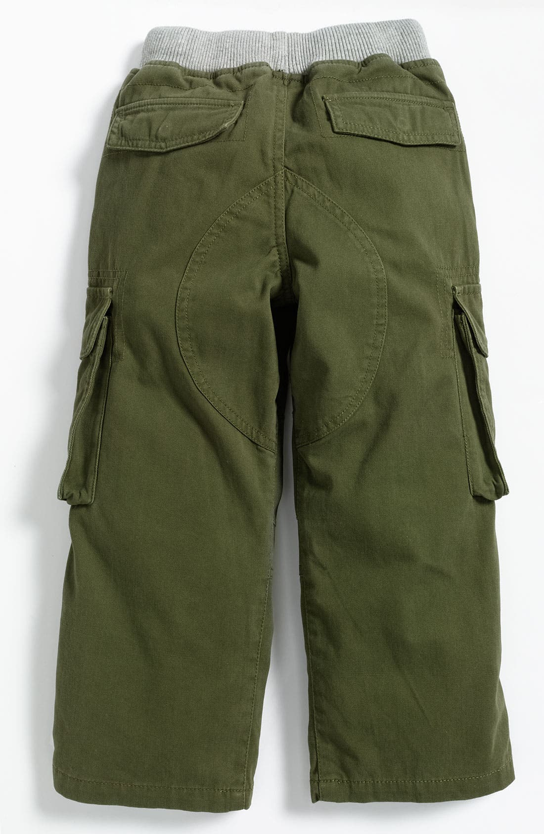 Alternate Image 2  - Mini Boden Ribbed Waist Cargo Pants (Little Boys)