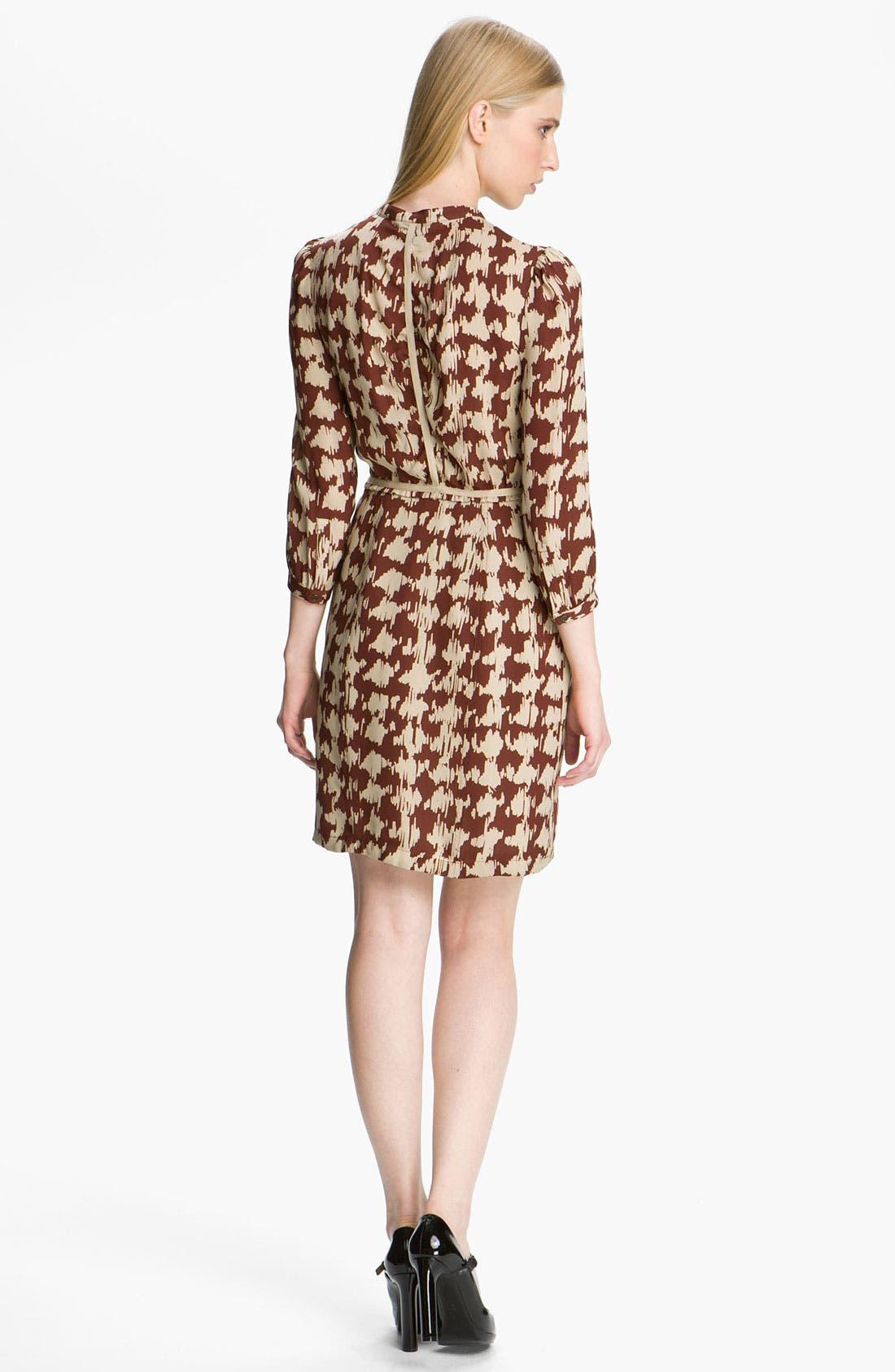 Alternate Image 2  - Burberry Brit Print Silk Dress