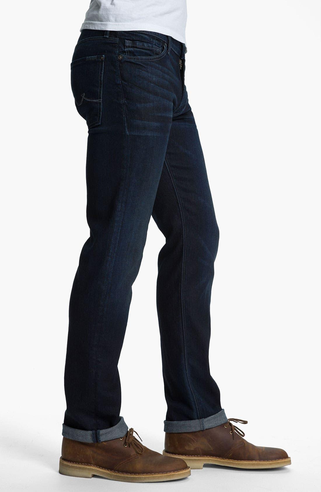 Alternate Image 3  - 7 For All Mankind 'Slimmy' Slim Straight Leg Jeans (Bodega Bay)