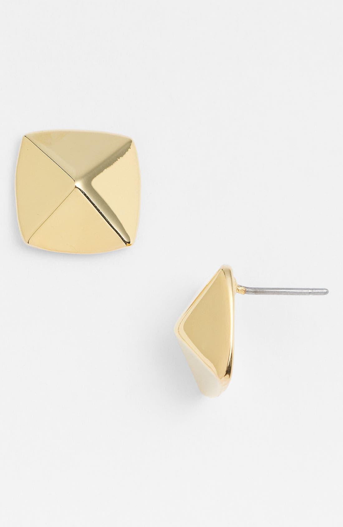 Alternate Image 1 Selected - Vince Camuto 'Basics' Small Pyramid Stud Earrings