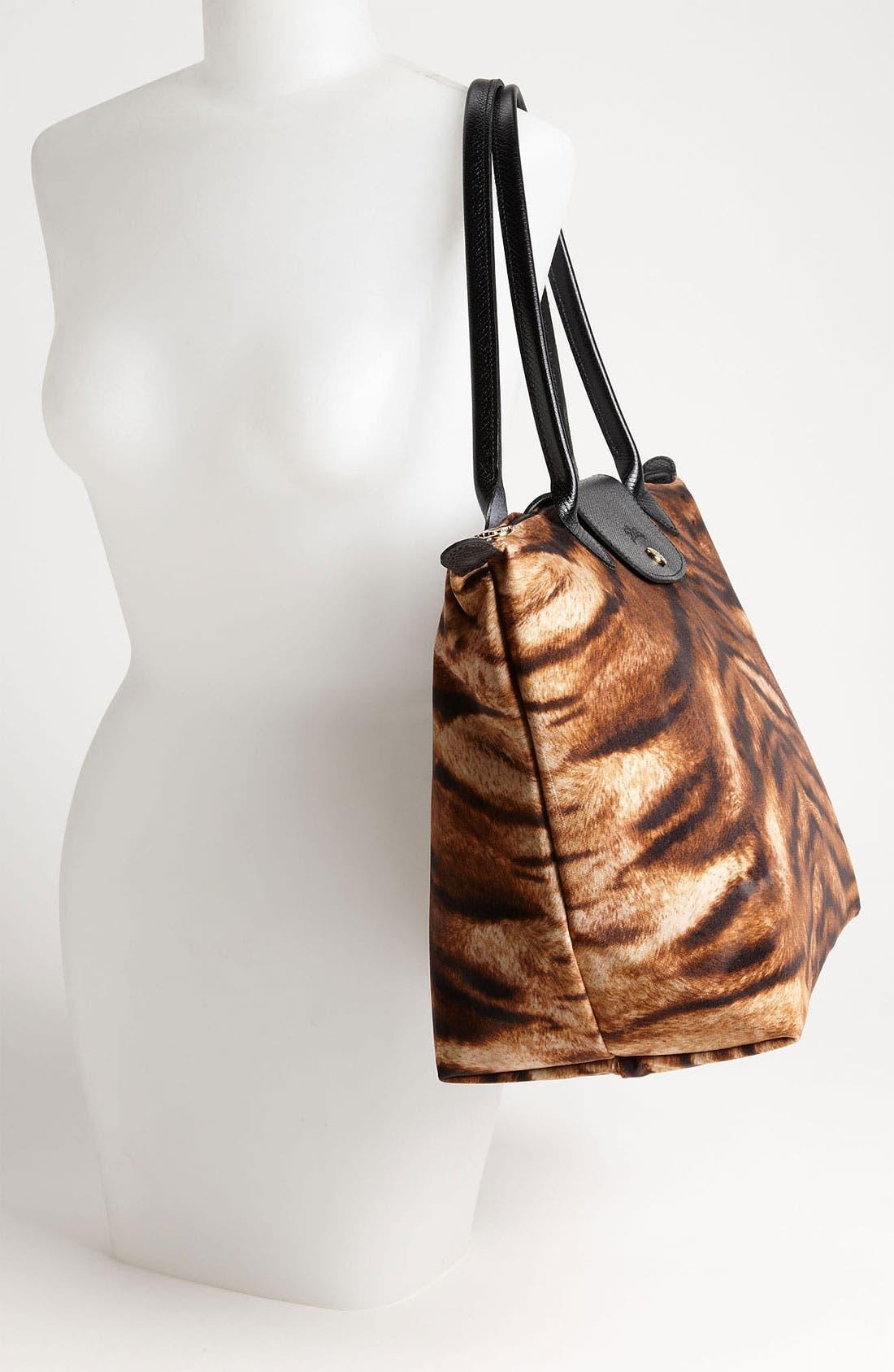 Alternate Image 2  - Longchamp 'Le Pliage Tigre' Large Shoulder Tote