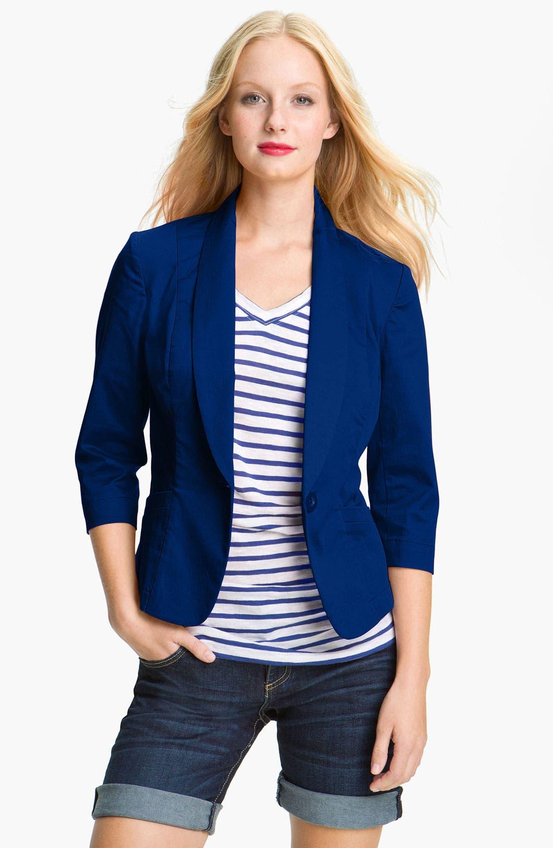 Main Image - Ambition One Button Twill Jacket