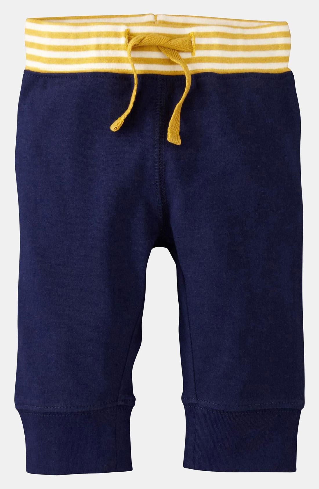 Main Image - Mini Boden 'Essential' Jersey Pants (Infant)