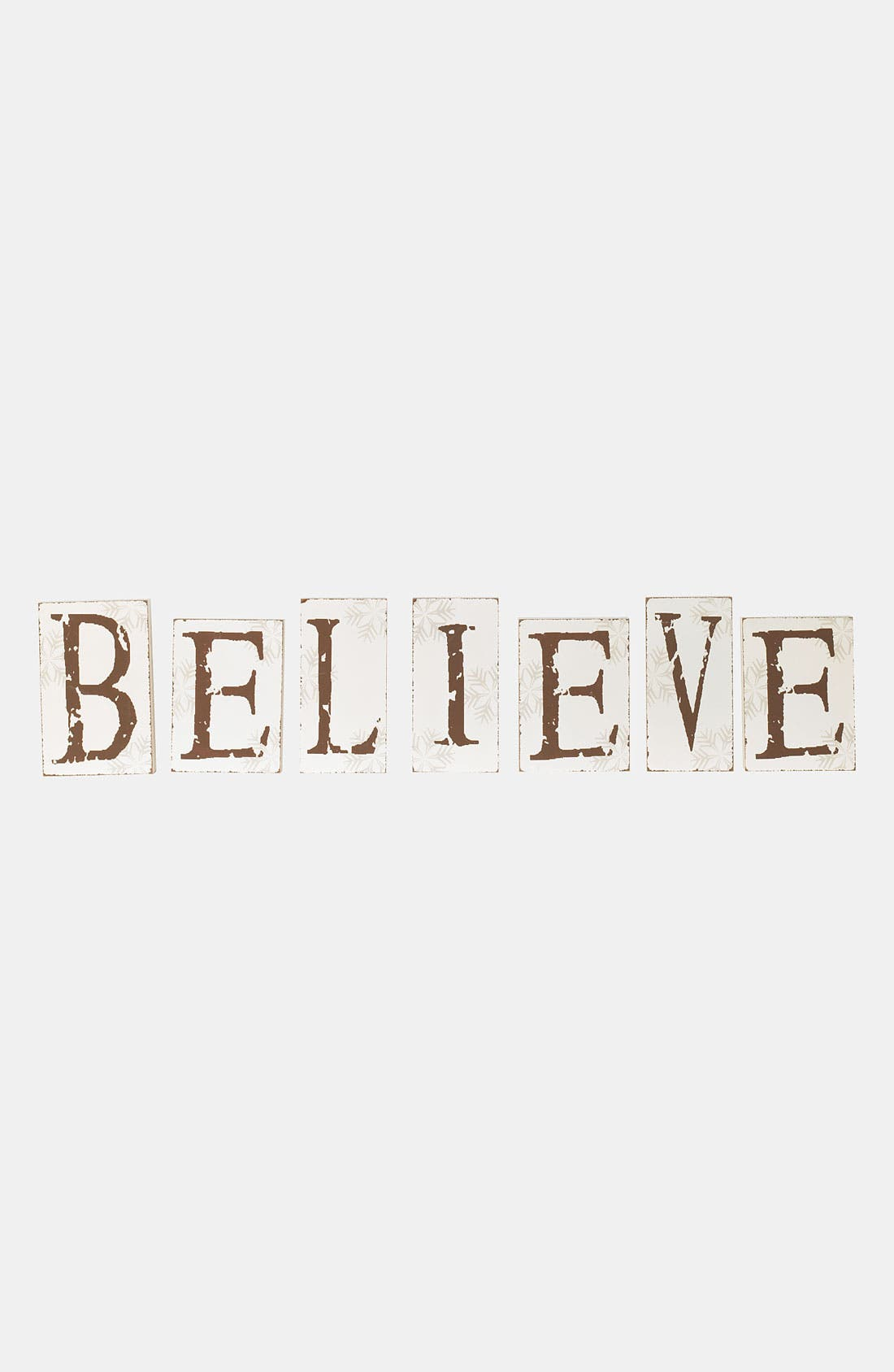 Alternate Image 1 Selected - K & K Interiors 'Believe' Sign