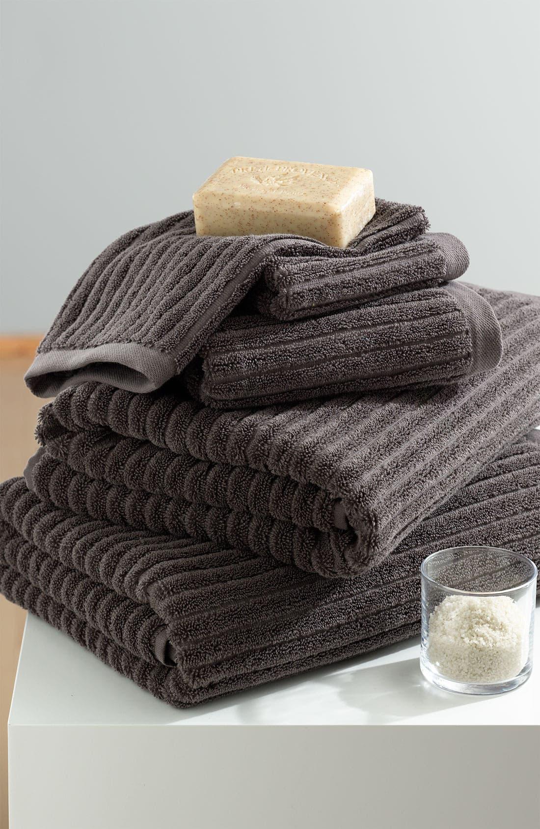 Alternate Image 2  - Nordstrom at Home 'Modern Rib' Hand Towel (2 for $24)