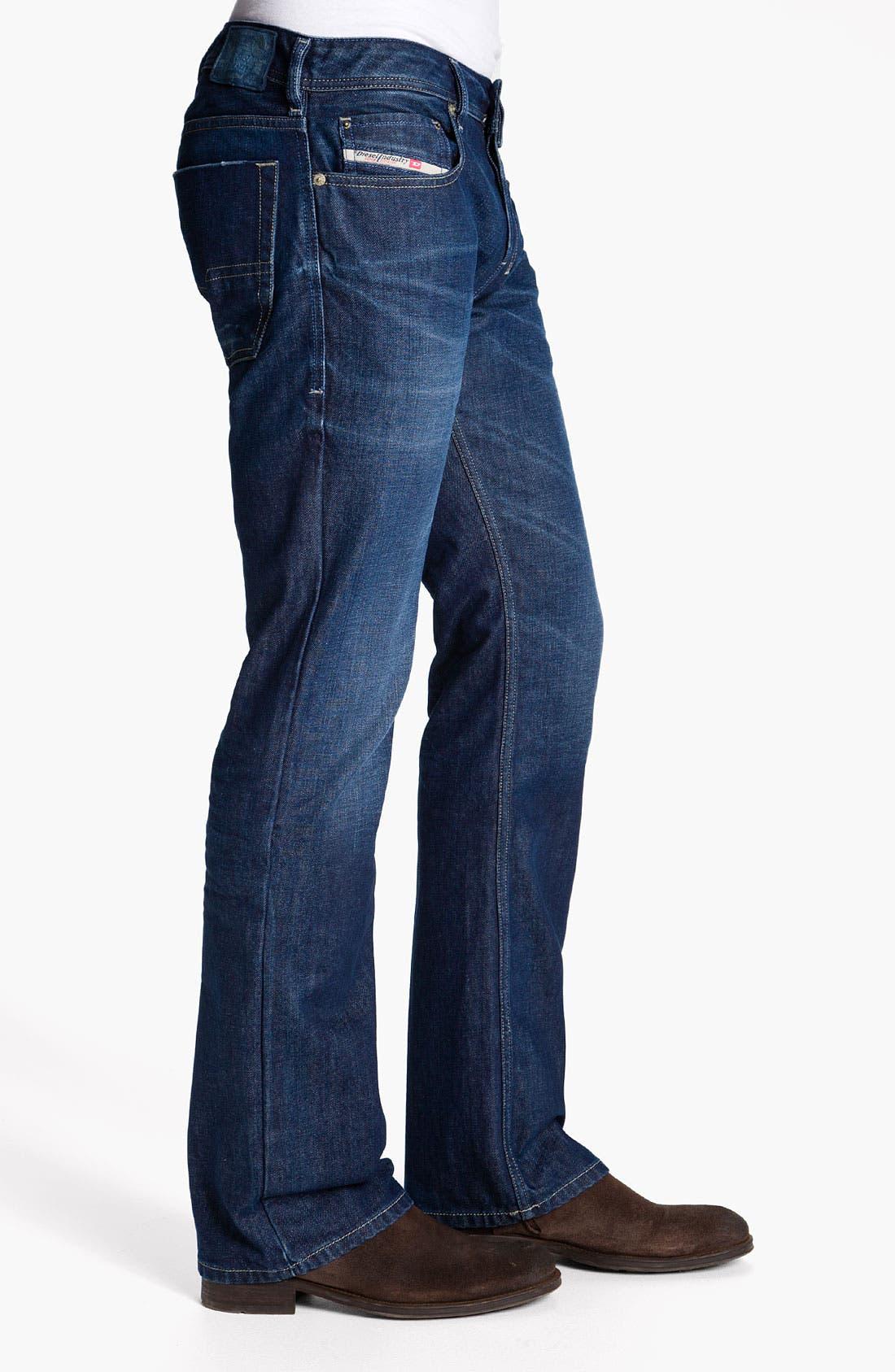 Alternate Image 3  - DIESEL® 'Zatiny' Bootcut Jeans (0802D)