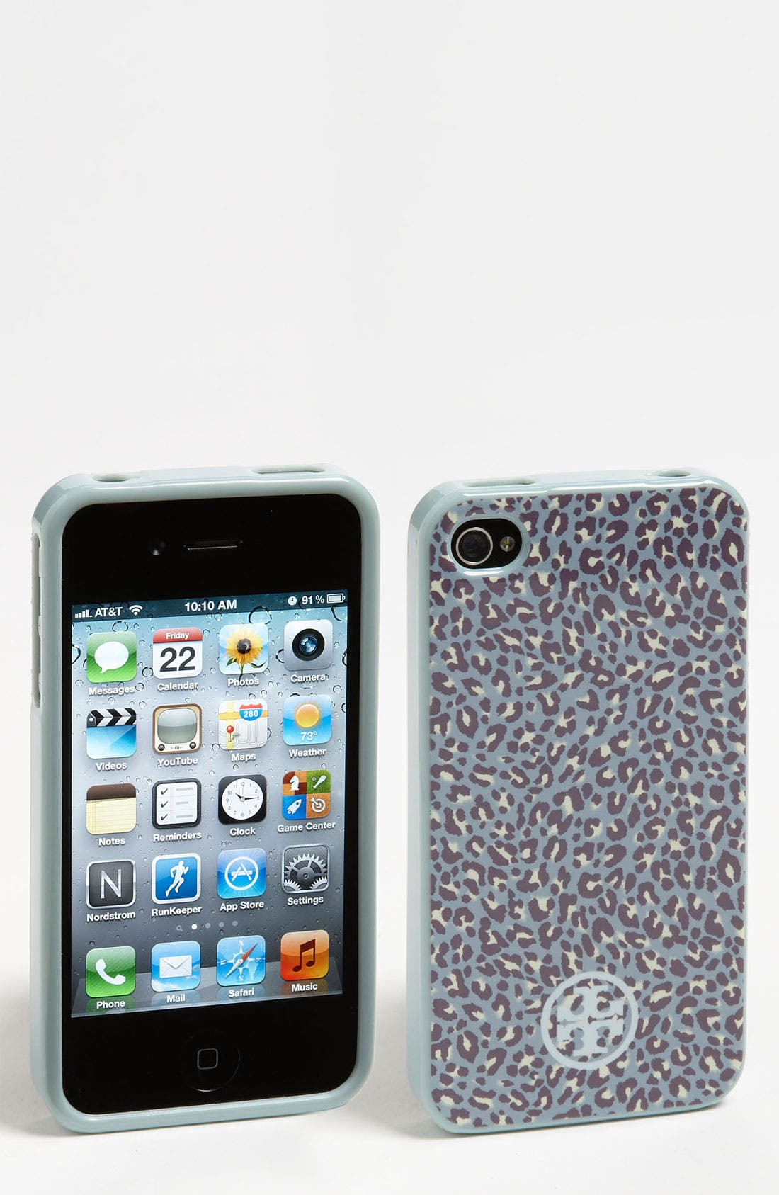 Alternate Image 1 Selected - Tory Burch 'Dunraven' Soft Shell iPhone 4 & 4S Case