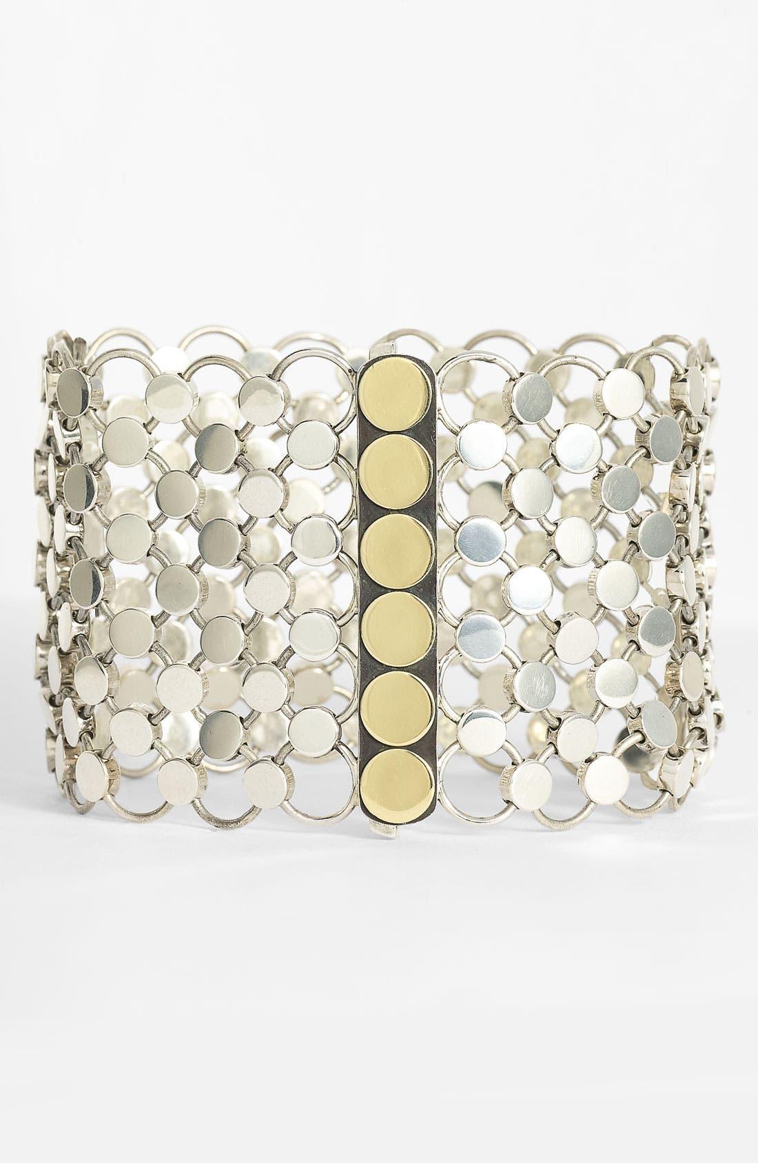 Alternate Image 1 Selected - John Hardy 'Dot' Wide Linked Bracelet