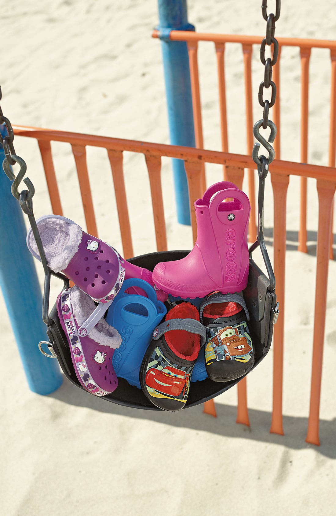 Alternate Image 5  - CROCS™ 'Cars®' Slip-On (Walker, Toddler & Little Kid)