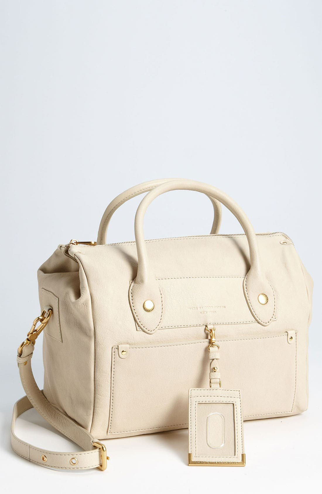 Alternate Image 1 Selected - MARC BY MARC JACOBS 'Preppy Leather Pearl' Satchel