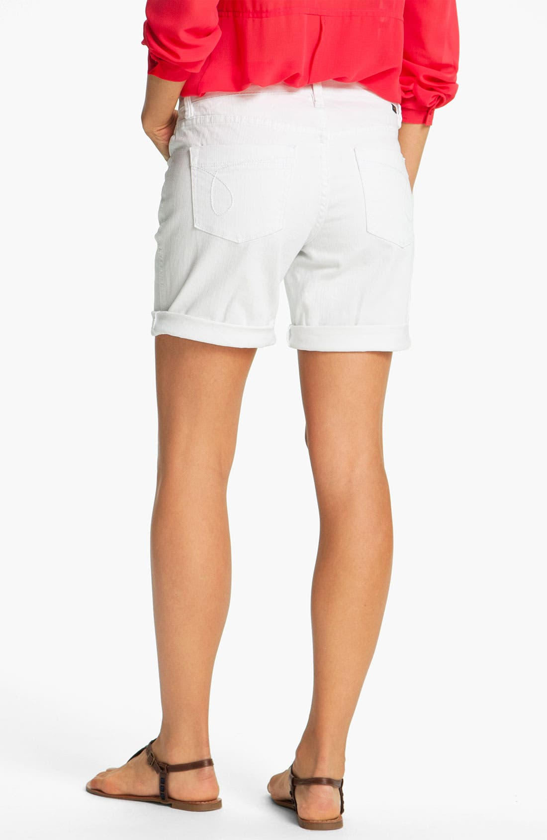 Alternate Image 2  - Jag Jeans 'Sunny' Twill Shorts