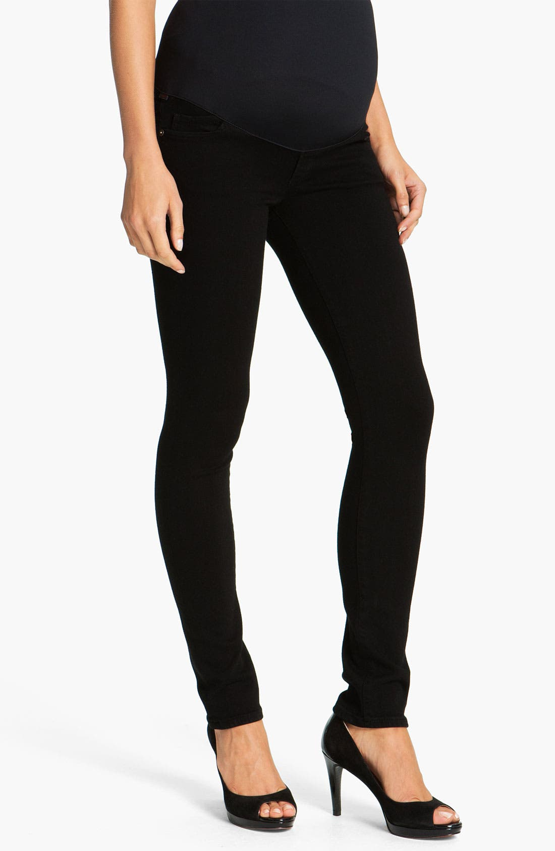 Alternate Image 1 Selected - Citizens of Humanity Maternity Ultra Skinny Stretch Jeans (Star)