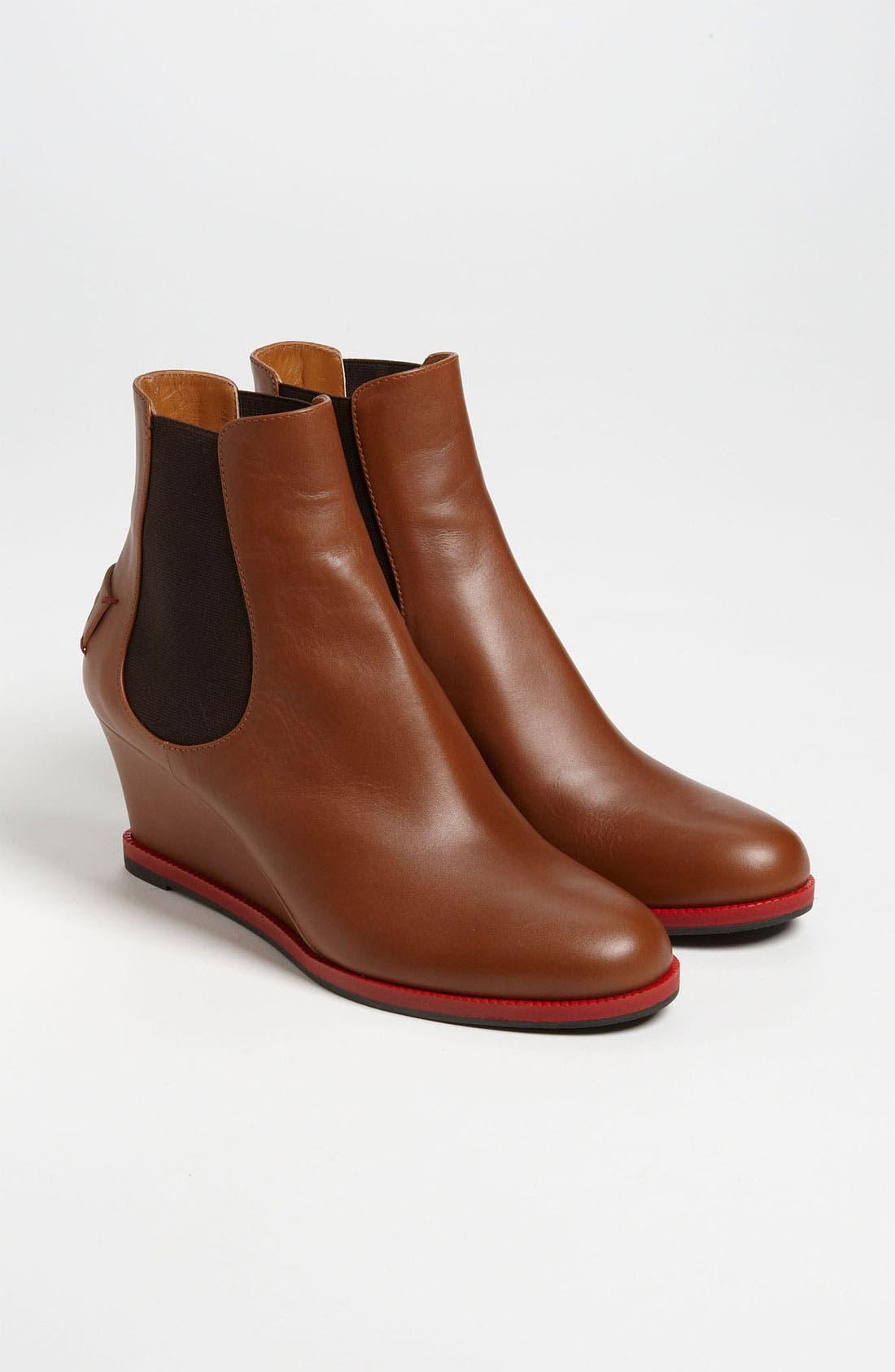Alternate Image 3  - Fendi Gored Wedge Ankle Boot