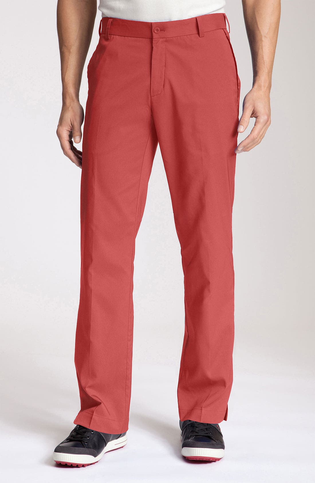 Alternate Image 1 Selected - Nike Golf  'Mod Tech' Flat Front Golf Pants