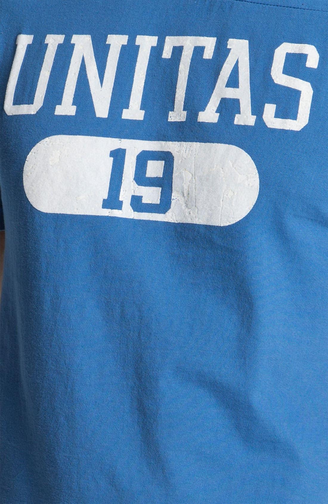 Alternate Image 3  - Red Jacket 'Johnny Unitas - Over Under' T-Shirt