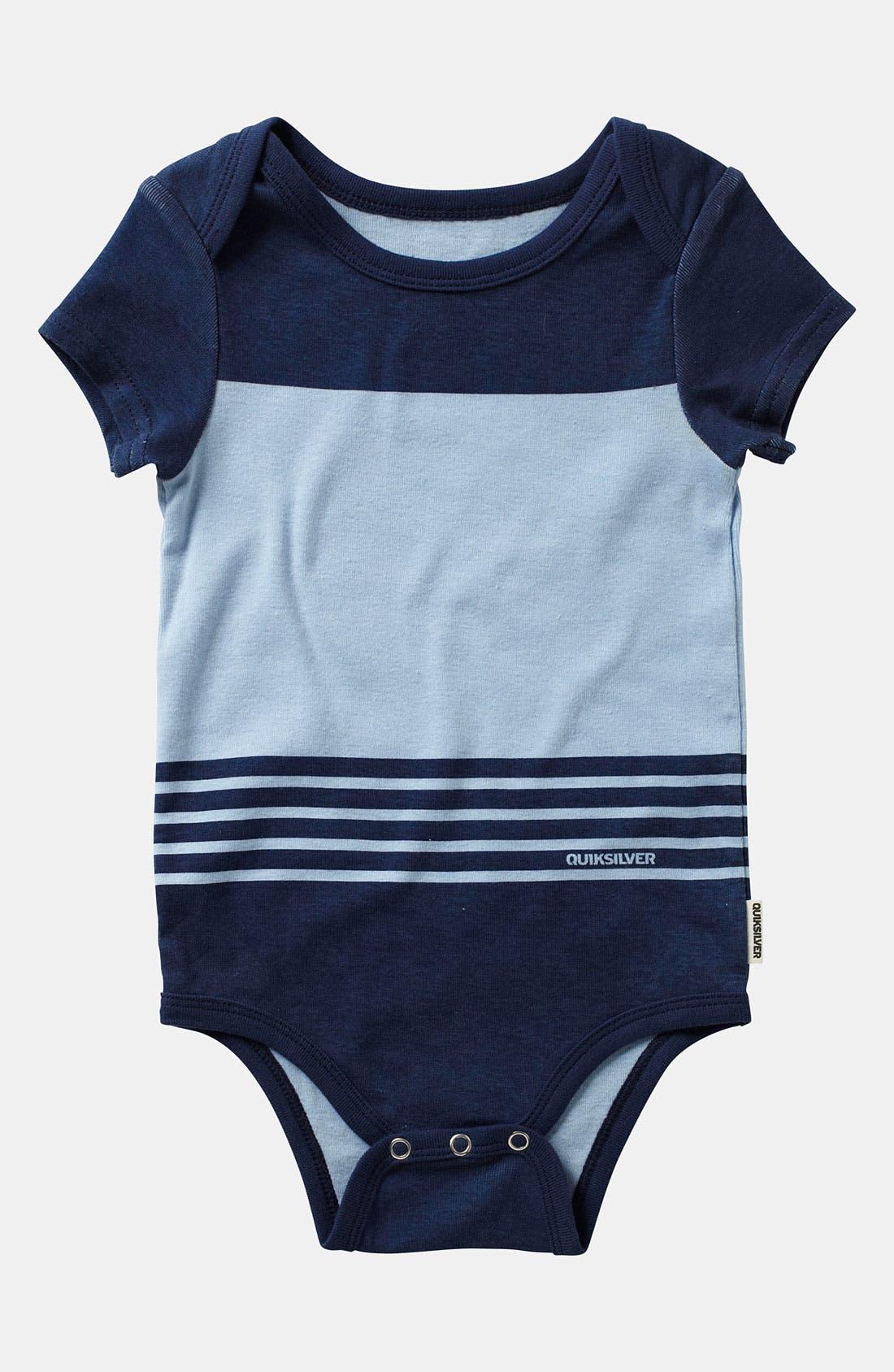 Alternate Image 3  - Quiksilver Bodysuit (2-Pack) (Infant)