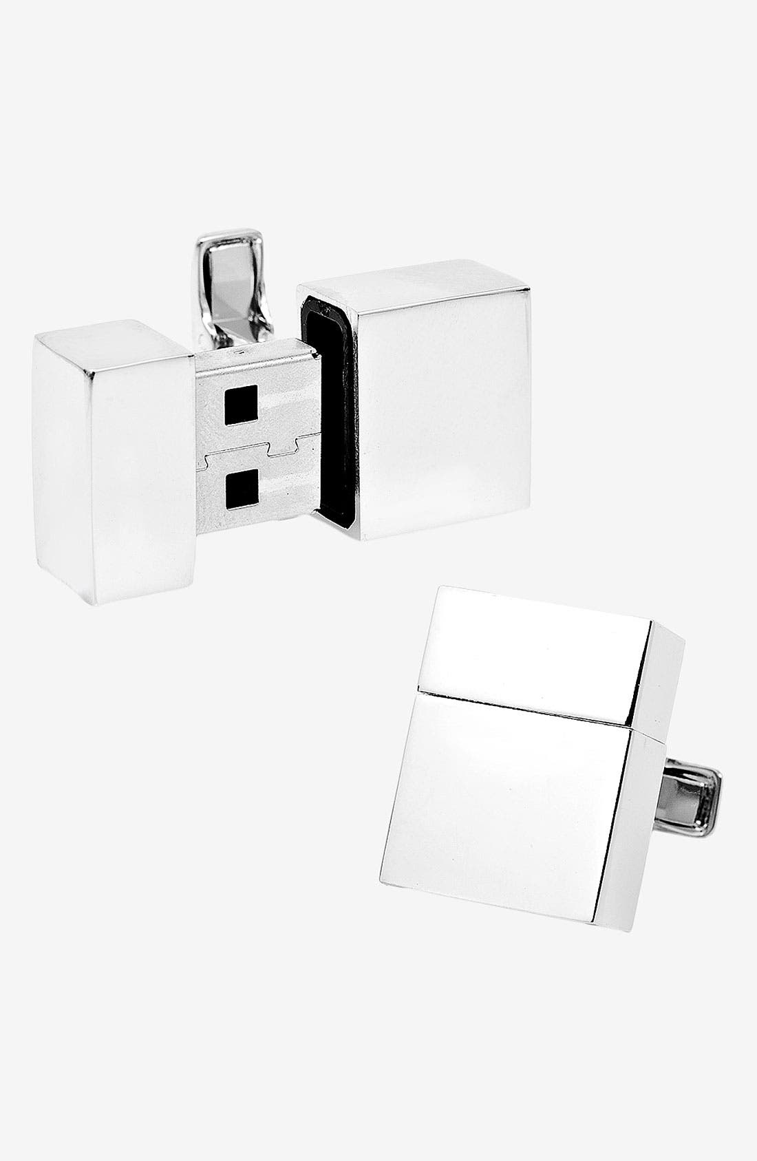 Main Image - Cufflinks, Inc. 2GB Flash Drive Cuff Links