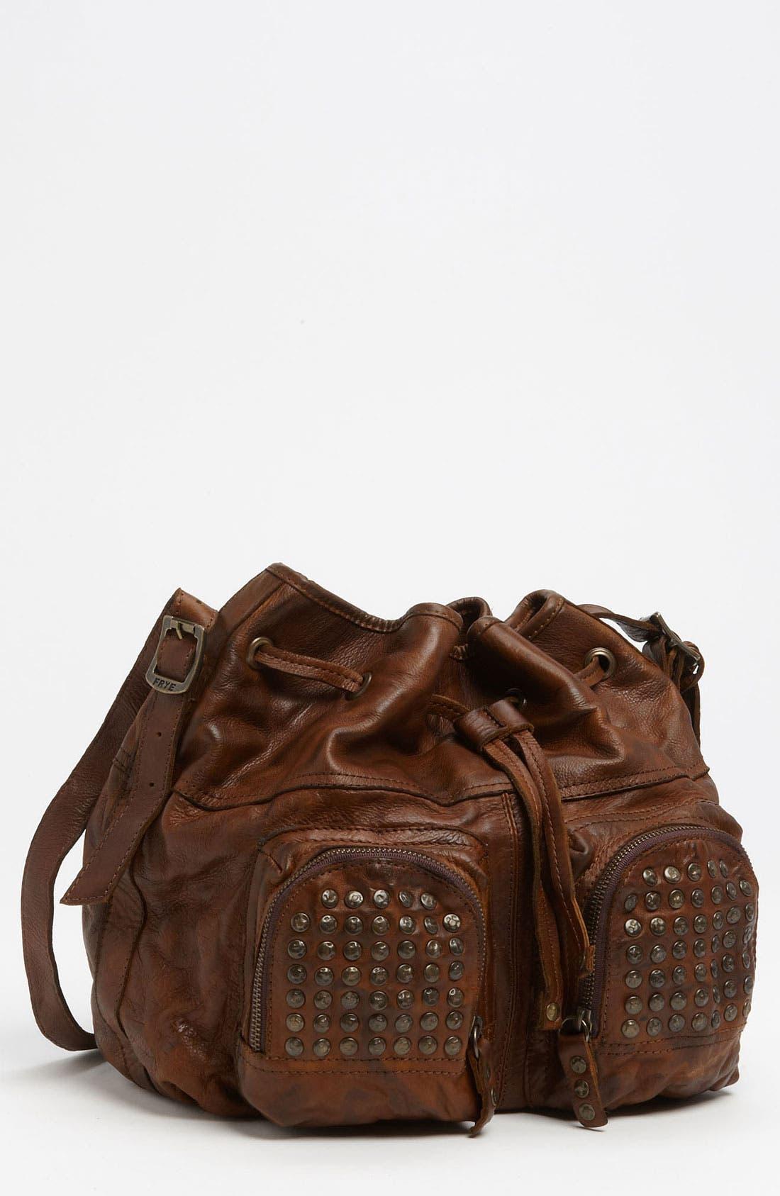 Alternate Image 1 Selected - Frye 'Brooke' Drawstring Shoulder Bag, Medium