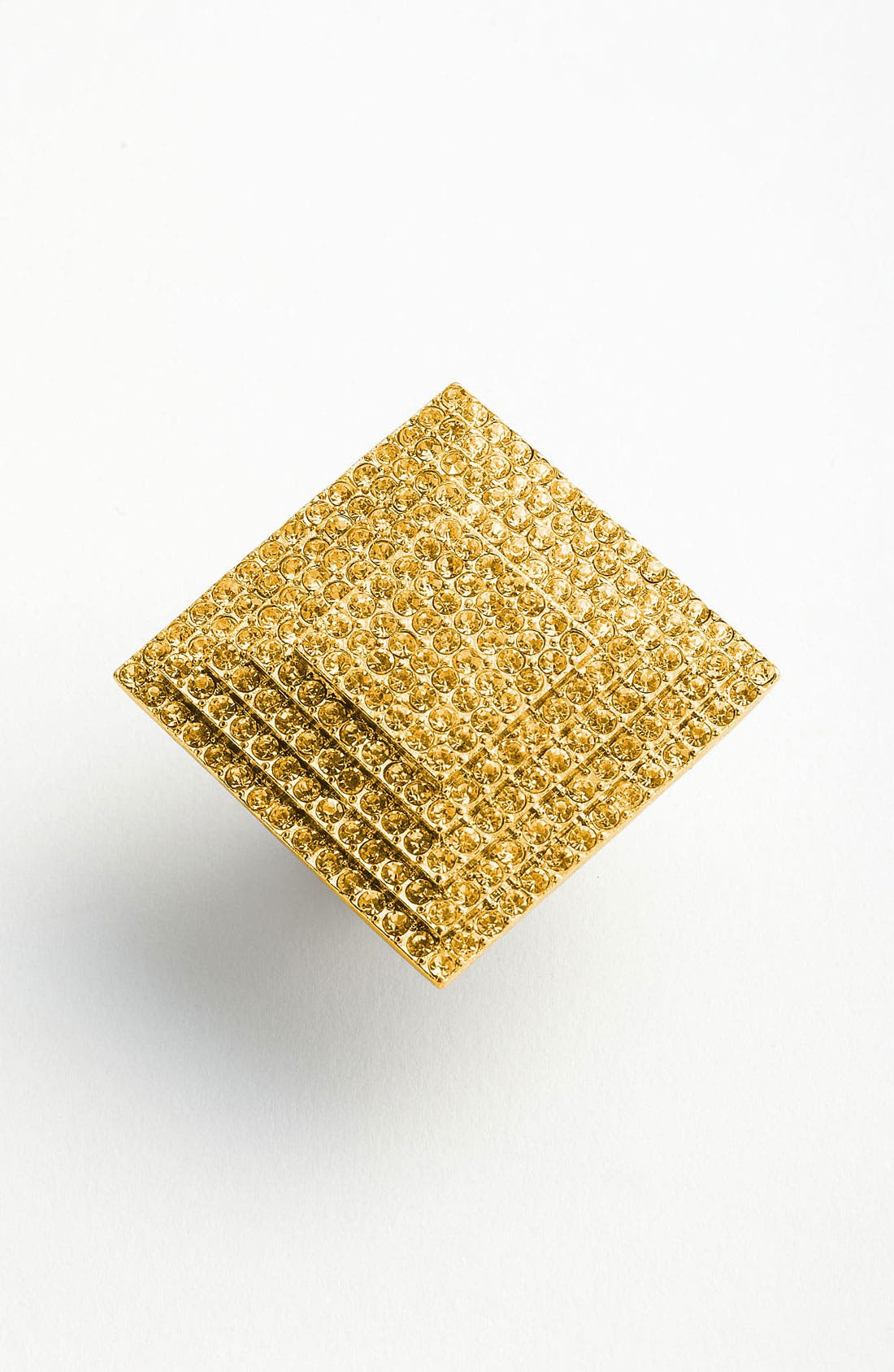 Main Image - Natasha Couture Large Square Crystal Ring