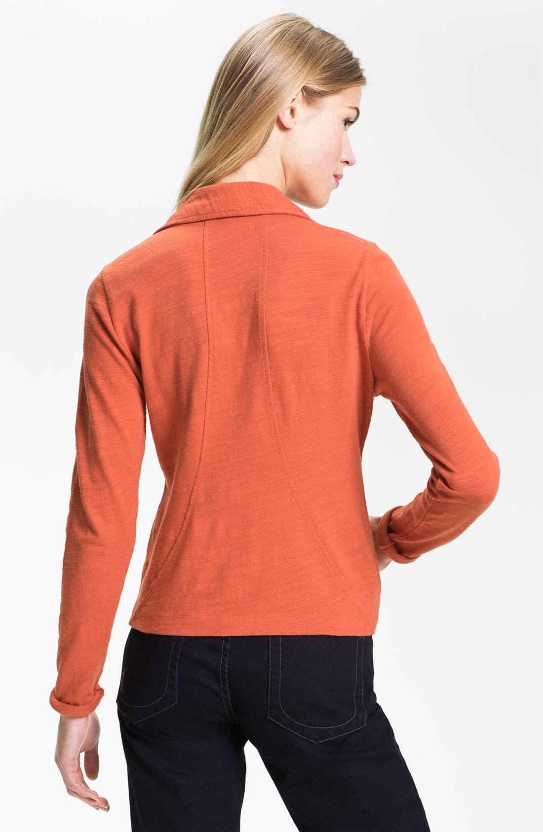 Alternate Image 2  - Caslon® One Button Knit Blazer