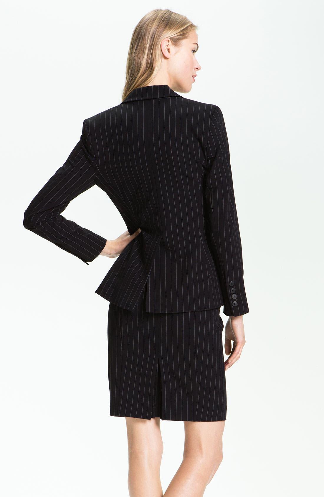 Alternate Image 2  - KAMALIKULTURE Pinstripe Jacket