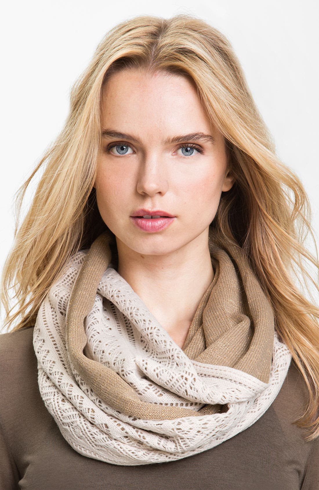 Alternate Image 1 Selected - Laundry by Shelli Segal Infinity Scarf