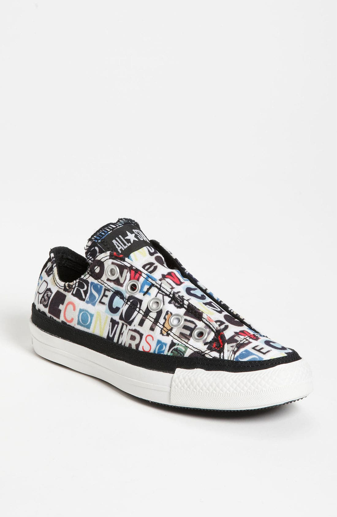 Main Image - Converse Chuck Taylor® All Star® 'Ransom Note' Slip-On Sneaker (Women)