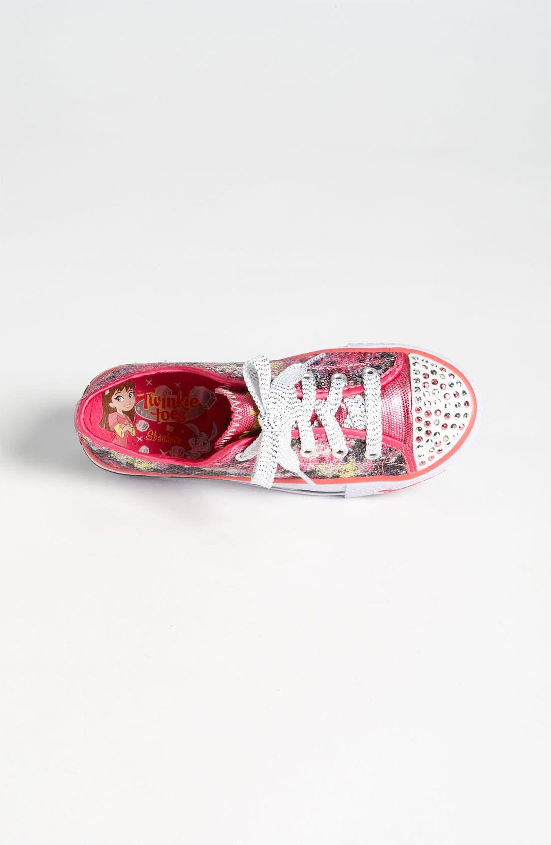Alternate Image 3  - SKECHERS 'Shuffle Ups' Light-Up Sneaker (Toddler & Little Kid)