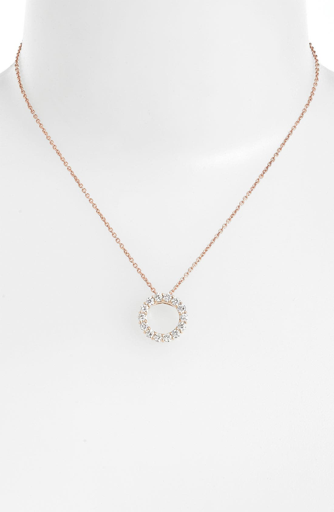 Alternate Image 1 Selected - Roberto Coin 'Tiny Treasures - Circle of Life' Diamond Necklace