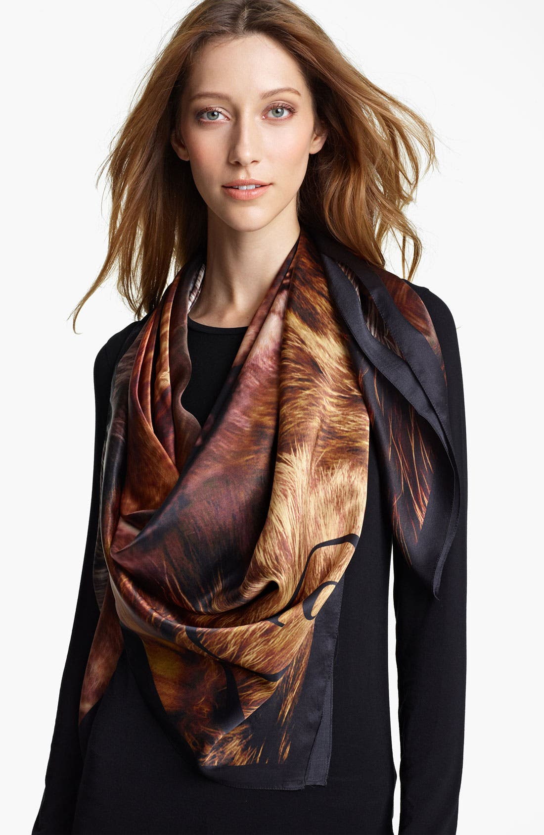 Alternate Image 1 Selected - McQ by Alexander McQueen Silk Scarf