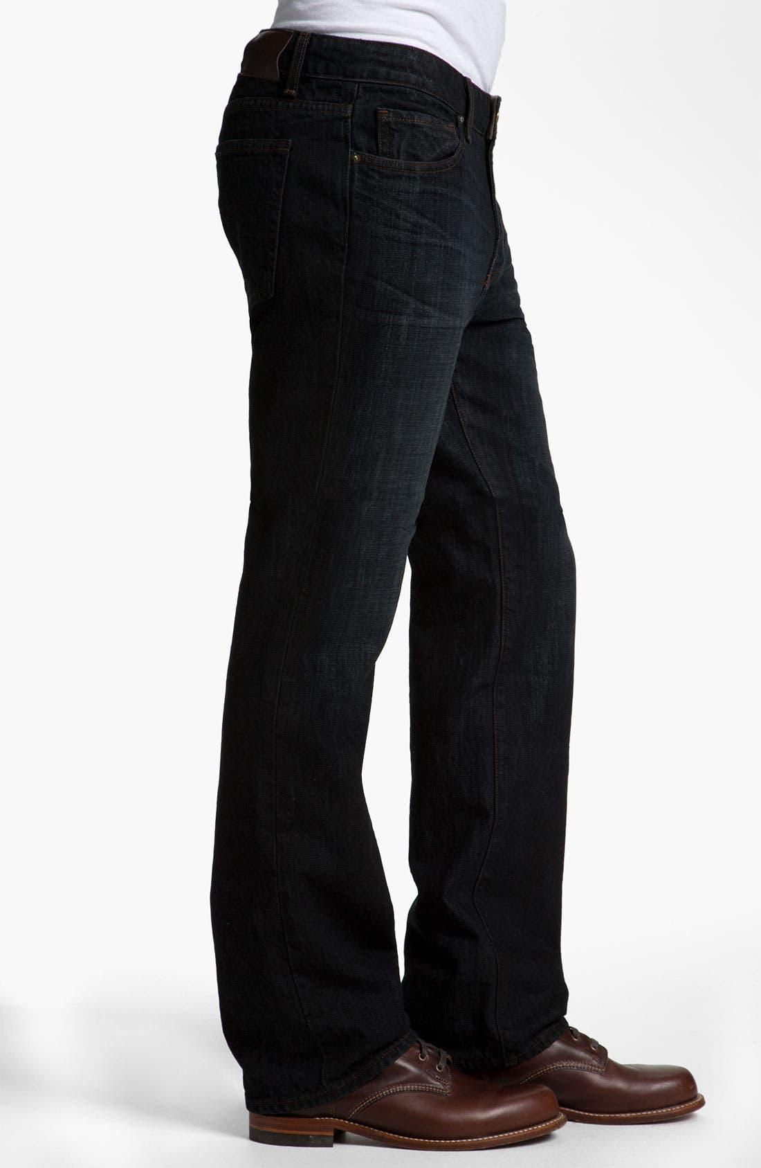 Alternate Image 3  - PAIGE 'Doheny' Straight Leg Jeans (Alpha)