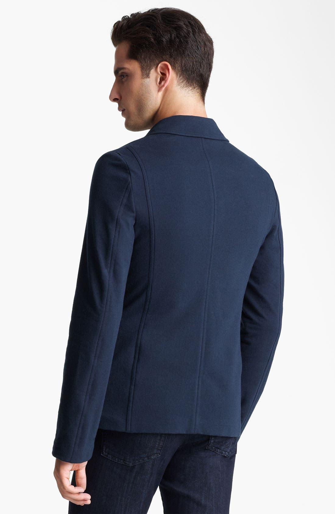 Alternate Image 2  - Z Zegna Jersey Blazer