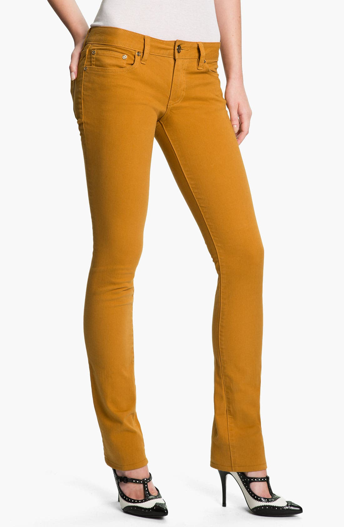 Alternate Image 1 Selected - Tory Burch 'Ivy' Skinny Stretch Jeans