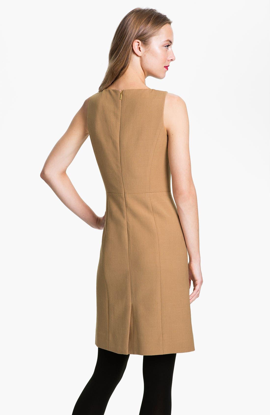 Alternate Image 2  - Tory Burch 'Azalea' Stretch Wool Sheath Dress