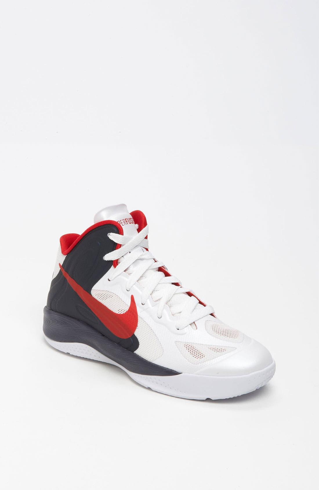 Alternate Image 1 Selected - Nike 'Hyperfuse 2012' Basketball Shoe (Big Kid)