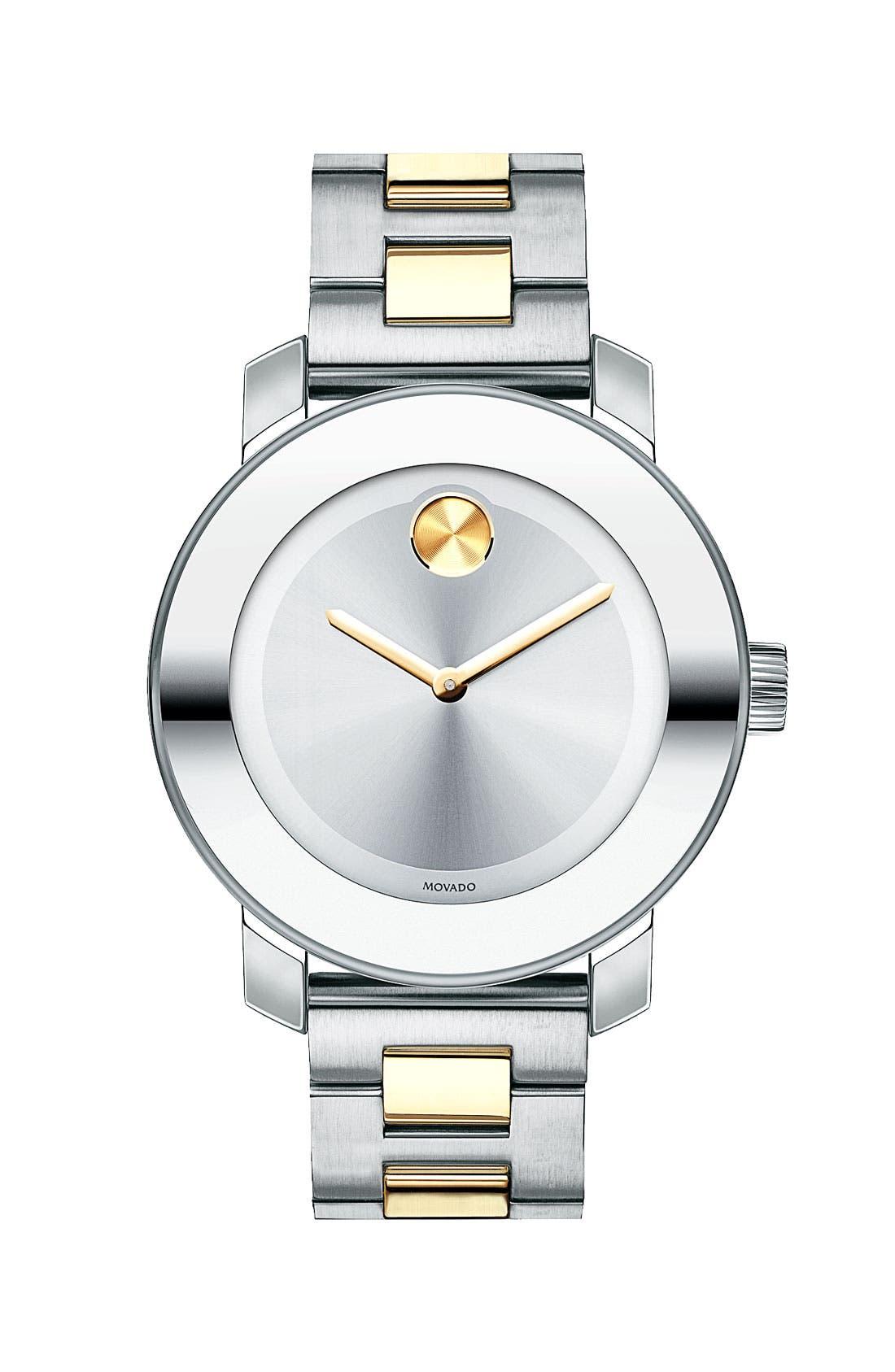 Main Image - Movado 'Bold' Round Bracelet Watch, 36mm