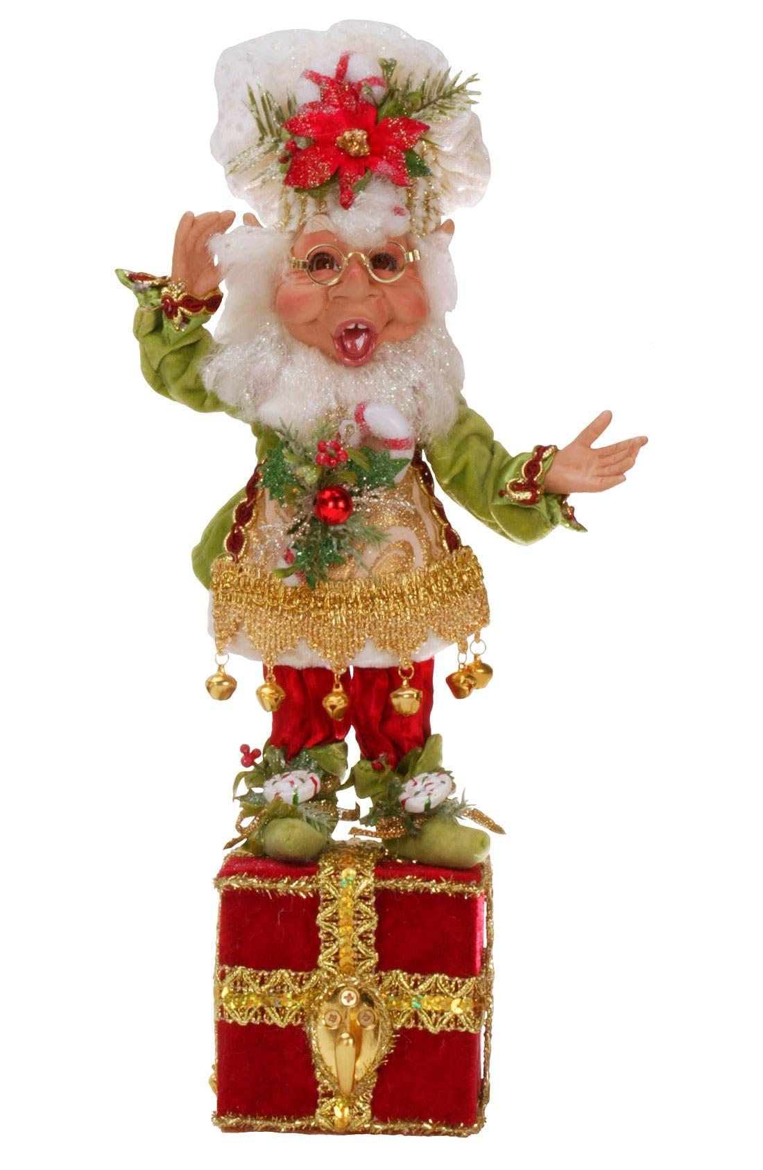 Main Image - Mark Roberts 'Sugar & Spice Elf' Stocking Holder (Limited Edition)