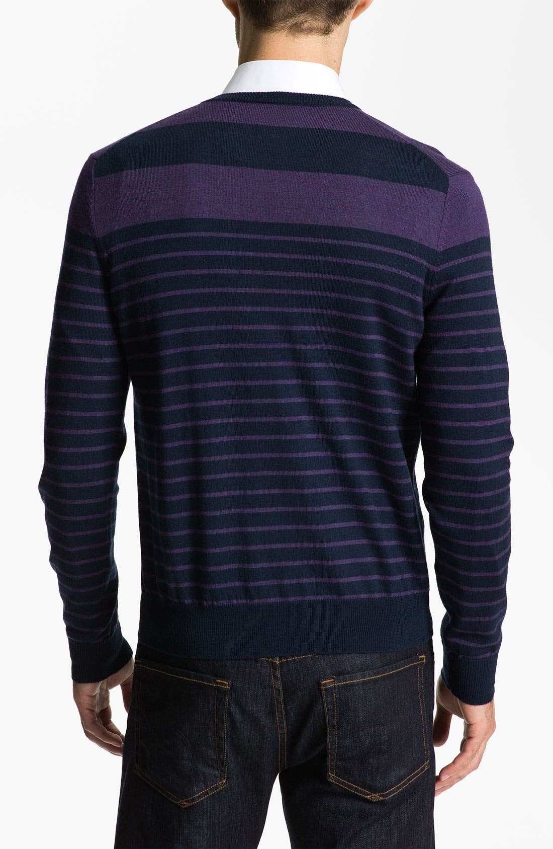Alternate Image 2  - Cullen89 Merino Wool V-Neck Sweater