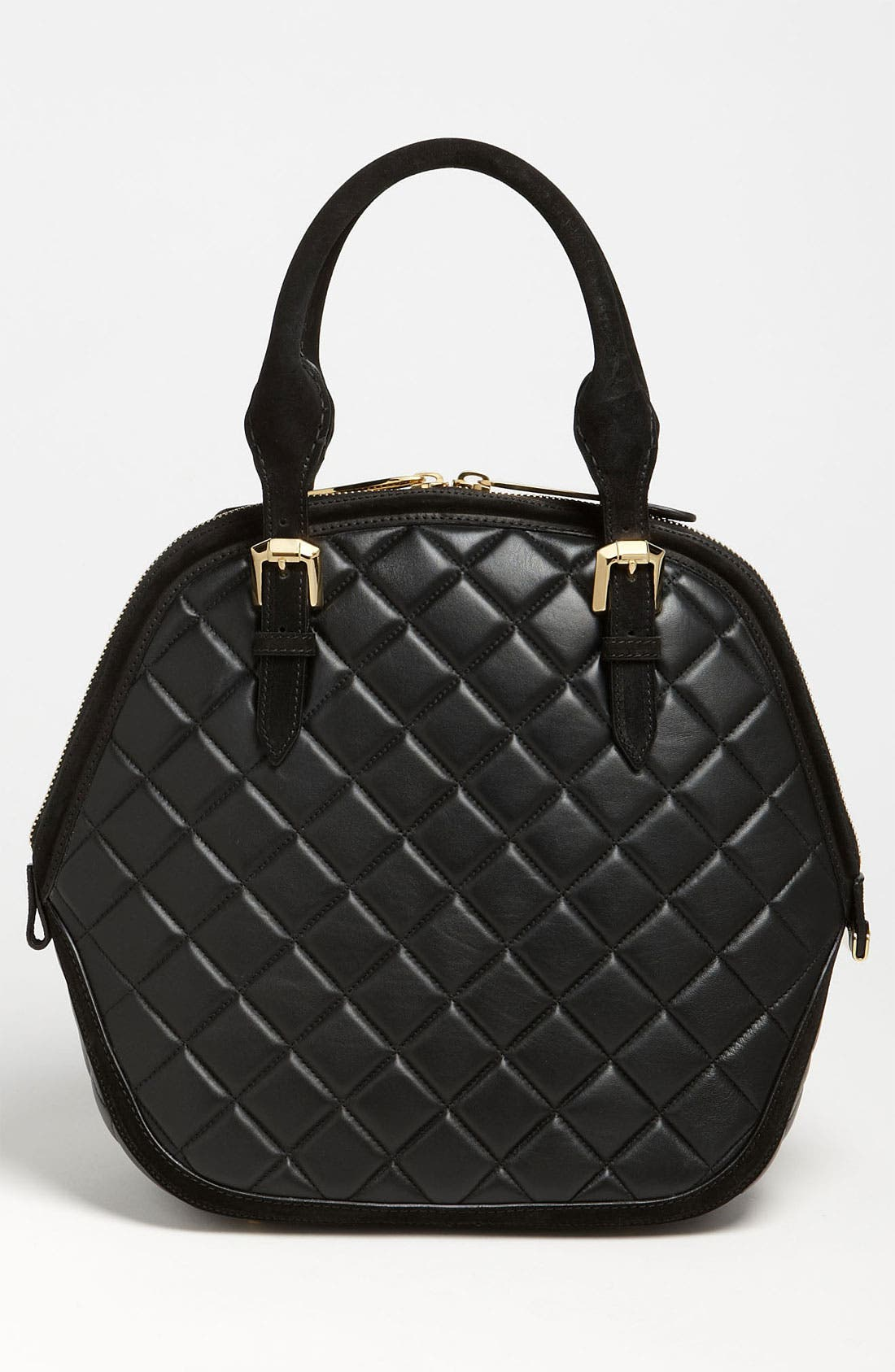 Alternate Image 4  - Burberry Prorsum Quilted Leather Satchel