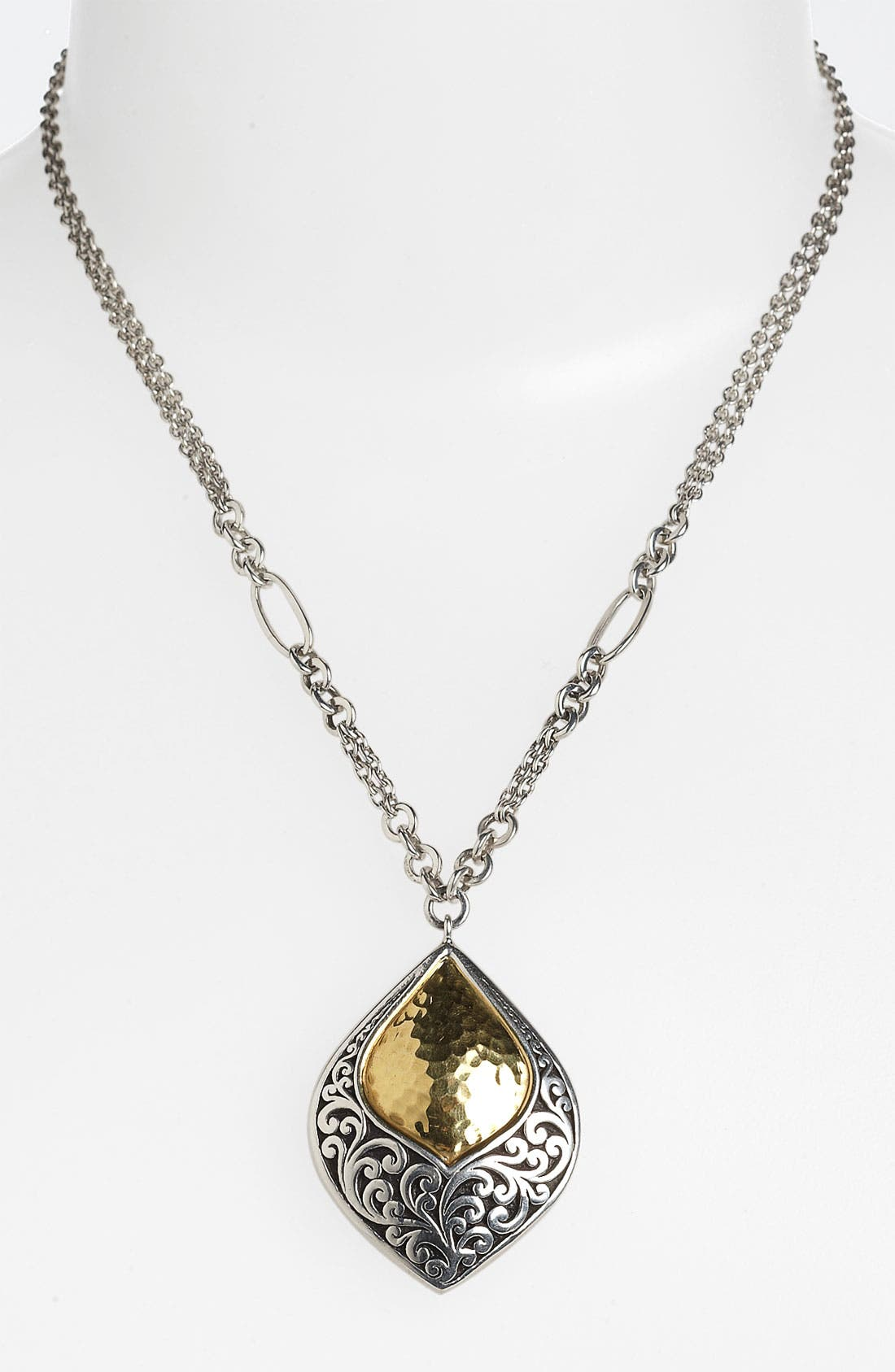 Alternate Image 1 Selected - Lois Hill 'Marquise' Statement Teardrop Pendant Necklace