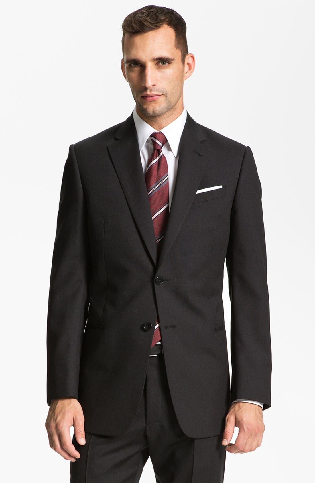Main Image - Armani Collezioni 'Giorgio' Trim Fit Suit