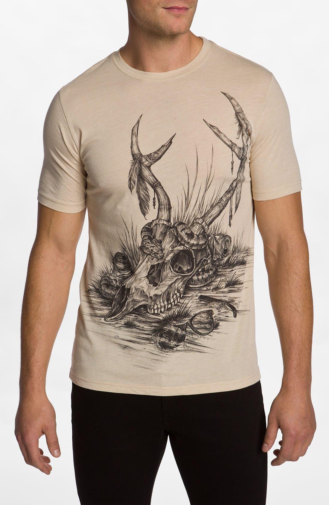 Alternate Image 1 Selected - Rook 'Skull Life' T-Shirt