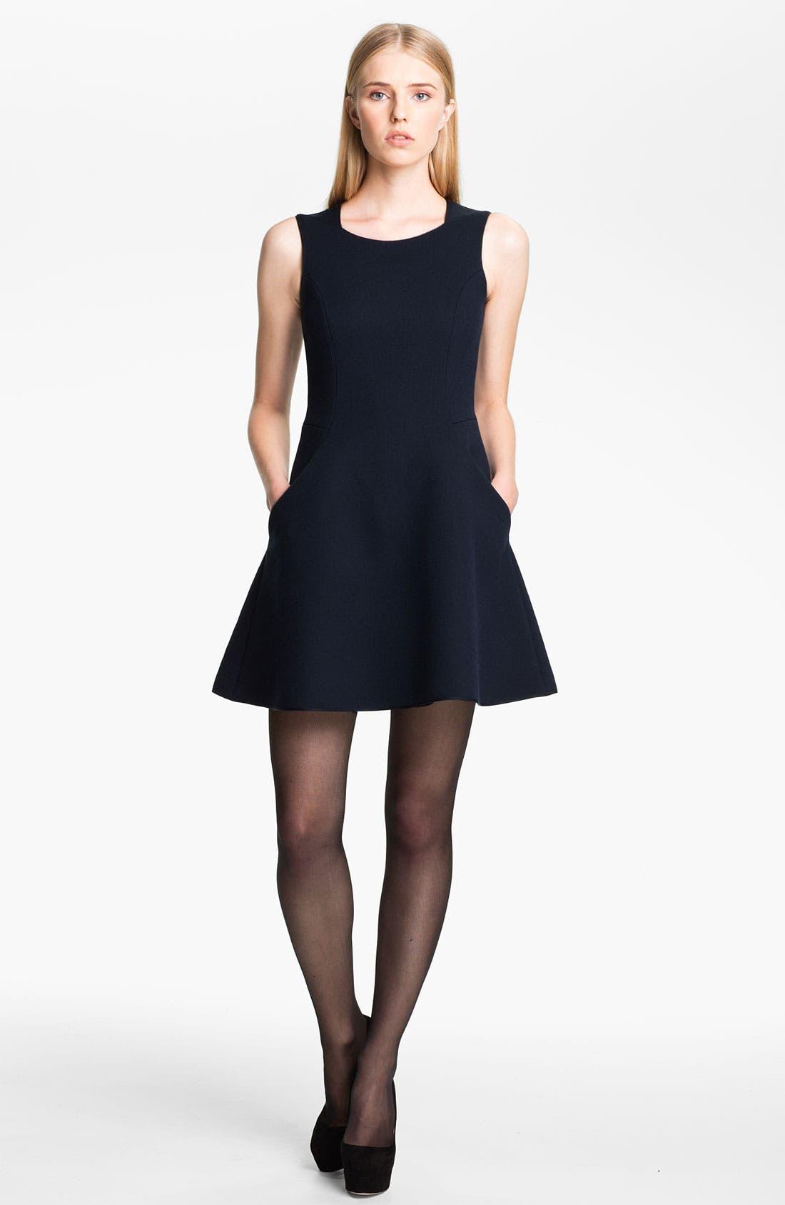 Main Image - Theyskens' Theory 'Durran Flok' Dress
